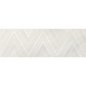 MARKURIA WHITE LINES INSERTO MATT 20X60 WD1017-003