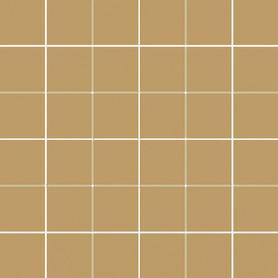 MODERNIZM OCHRA MOZAIKA CIETA K.4,8X4,8  29,8X29,8 G1 (8.000)