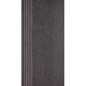 DOBLO NERO STOPNICA PROSTA MAT. 29,8X59,8 G1 (1.070)