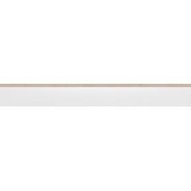 COKÓŁ CAMBIA WHITE LAPPATO 1197x80x8 (8szt) GAT.1