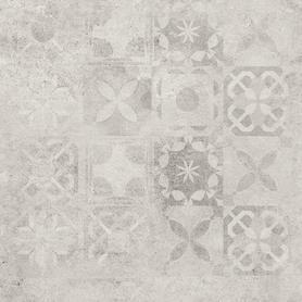GRES SOFTCEMENT WHITE POLER DECOR PATCHWORK  597X597X8 (1,43)