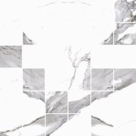 MOZAIKA CALACATTA WHITE 297x297x8 (5szt) GAT.1