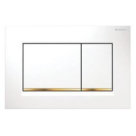 Sigma 30 przycisk spłukujący biały + złoto 115.883.KK.1