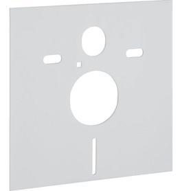 Zestaw do izolacji akustycznej do muszli wiszącej i bidetu 37 x 42 mm biały