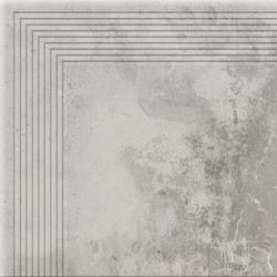 STOPNICA NAROŻNA PIATTO GRIS  300x300x9 (8szt)