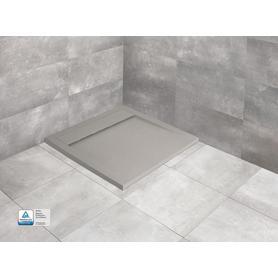 TEOS C 80x80 kwadratowy cemento HTC8080-74