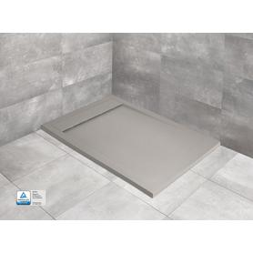 TEOS F 160x100 prostokątny cemento HTF160100-74