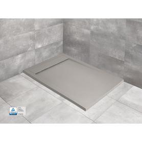 TEOS F 90x80 prostokątny cemento HTF9080-74