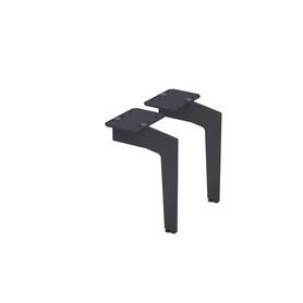 Nogi (2 szt) 23 cm, czarny mat OR00-A-NO-23-8