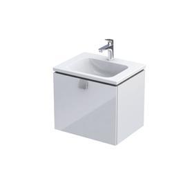 BOLD -Szafka podumywalkowa 60 cm,jedna szuflada, kolor: biały połysk,OR46-SD1S-60-1-SW