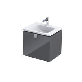 BOLD -Szafka podumywalkowa 60 cm,jedna szuflada, kolor: grafit połysk,OR46-SD1S-60-5-SW