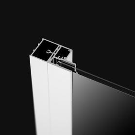 NES - profil poszerzający +20mm pod magnes chrom P01-277200001