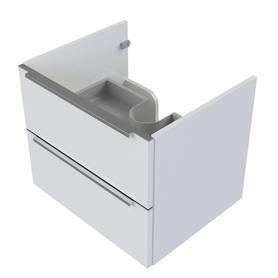 OMNIDREAM szafka dolna, podwieszana, 76x46x50cm, biały połysk     OMNIDREAMSD-76XBP
