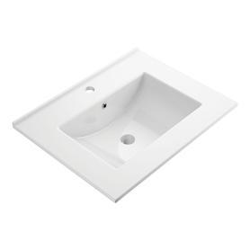 ORLANDO umywalka meblowa, 61x47cm, biały połysk       ORLANDO600BP