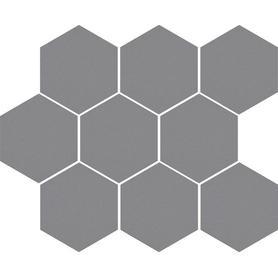 CAMBIA GRIS LAPPATO MOZAIKA HEKSAGON 33,4x27,53x8 (5szt) GAT.1