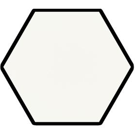 SHINY LINES BIANCO HEKSAGON GRES SZKL. MAT. 19,8X17,1 G1 (0.820)