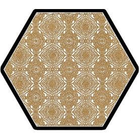 SHINY LINES GOLD HEKSAGON INSERTO E 19,8X17,1 G1
