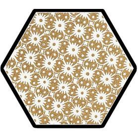 SHINY LINES GOLD HEKSAGON INSERTO D 19,8X17,1 G1