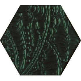 URBAN COLOURS GREEN INSERTO SZKLANE HEKSAGON 19,8X17,1 G1