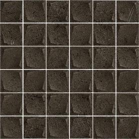 MINIMAL STONE NERO MOZAIKA PRASOWANA K.4,8X4,8  29,8X29,8 G1 (10.000)