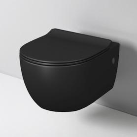 Art Ceram File 2.0 miska WC wisząca Rimless czarny mat FLV004