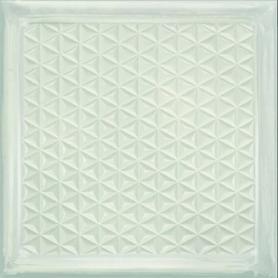GLASS WHITE BRICK   20,10X20,10 gat.1 (0,89)