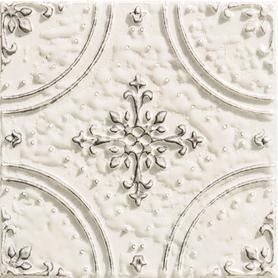 Dekor ścienny Tinta white 14,8x14,8 Gat.1