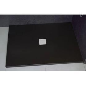 NOX ULTRASLIM brodzik prostokątny czarny 120 x 90 BMN120-90-CC