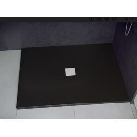 NOX ULTRASLIM brodzik prostokątny czarno-biały 100 x 80 BMN100-80-CB