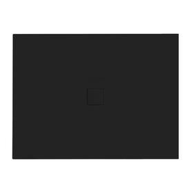 NOX ULTRASLIM brodzik prostokątny czarny 100 x 80 BMN100-80-CC