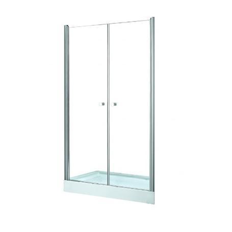 SINCO DUE drzwi prysznicowe przejrzyste szkło 90 x 195 DSD-90