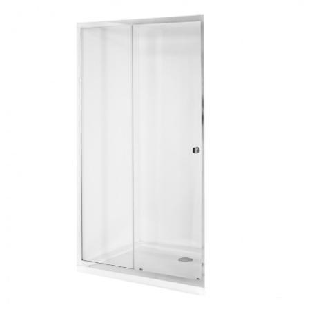 DUO SLIDE drzwi prysznicowe przejrzyste szkło 130 x 195 DDS-130
