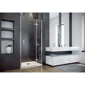 VIVA drzwi prysznicowe przejrzyste szkło lewe / prawe 100 x 195 DVL-100-195C