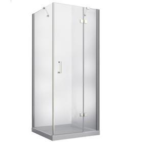 VIVA kabina kwadratowa przejrzyste szkło lewa 90 x 90 x 195 VKP-90-195-C