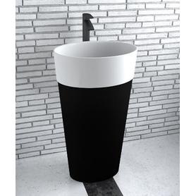 UNIQA BLACK&WHITE umywalka wolnostojąca 32 x 46 x 84 UMD-U-WBW