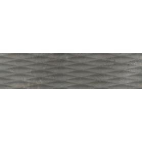 GRES MASTERSTONE GRAPHITE POLER DECOR WAVES  1197X297X8