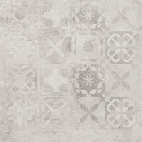 GRES SOFTCEMENT WHITE DECOR PATCHWORK RECT.  597X597X8 (1,43)