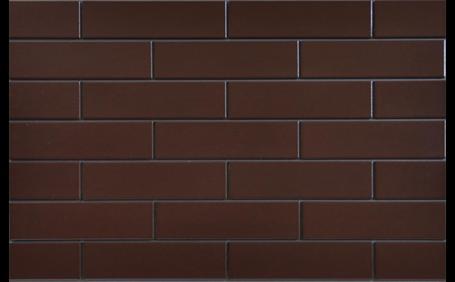 ELEWACJA BRĄZOWA SZKLIWIONA 245x65x6,5 (0,5m2.)