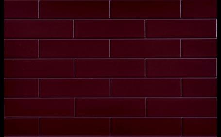 ELEWACJA SZKLIWIONA WIŚNIA 245X65X6,5 (0,5m2)