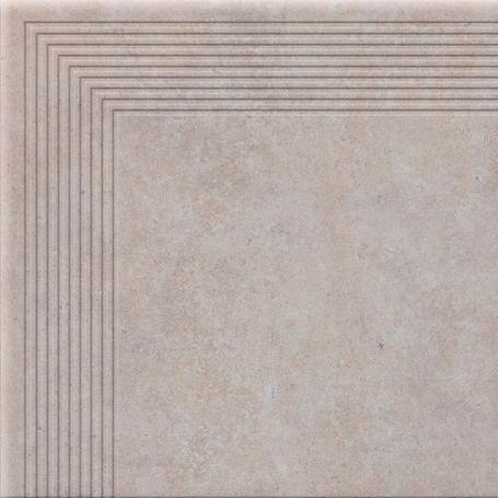 STOPNICA  NAROŻNA COTTAGE SALT 300x300x9(8)