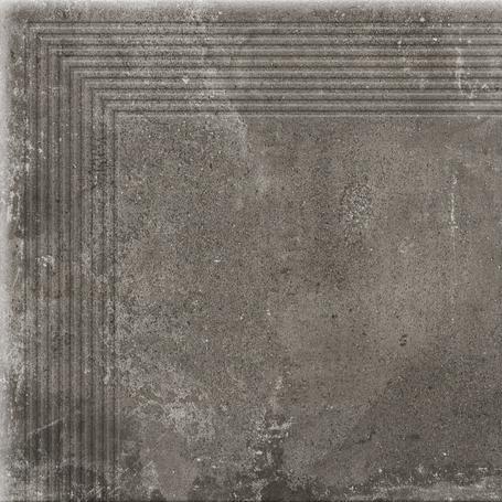 STOPNICA NAROŻNA PIATTO ANTRACYT 300x300x9 (8szt)