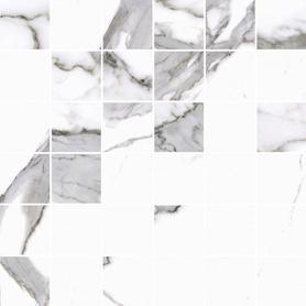 MOZAIKA CALACATTA WHITE POLER 297x297x8 (5szt) GAT.1