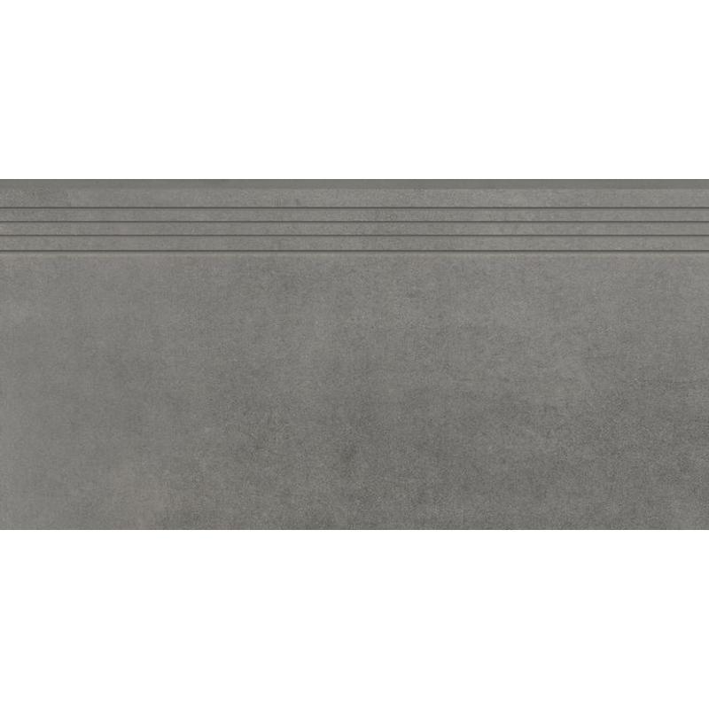 STOPNICA CONCRETE GRAPHITE  MAT 797x397x8 (4szt) GAT.1
