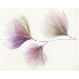 DEKOR LORIS WHITE FLOWER 40X50
