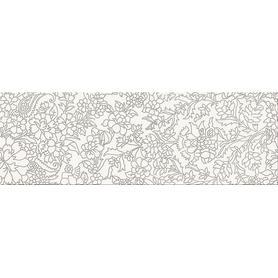 WHITE INSERTO FLOWER 25X75 OD334-012