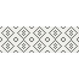 MOZAIKA BLACK&WHITE CENTRO 25X75 G1 OD334-010