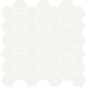 MOSAIKA MUZI WHITE 29X29,7 GAT. 1  WD692-008