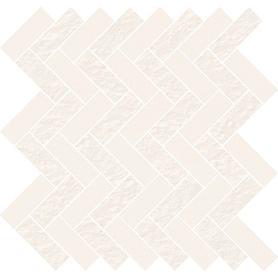 WHITE MICRO MOSAIC PARQUET MIX 31,3X33,1 OD569-005
