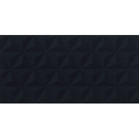 PS802 BLACK SATIN GEO STRUCTURE 29x59 G1 W566-010-1(1,2)