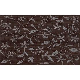 TANAKA BROWN INSERTO FLOWER 25X40 WD798-016